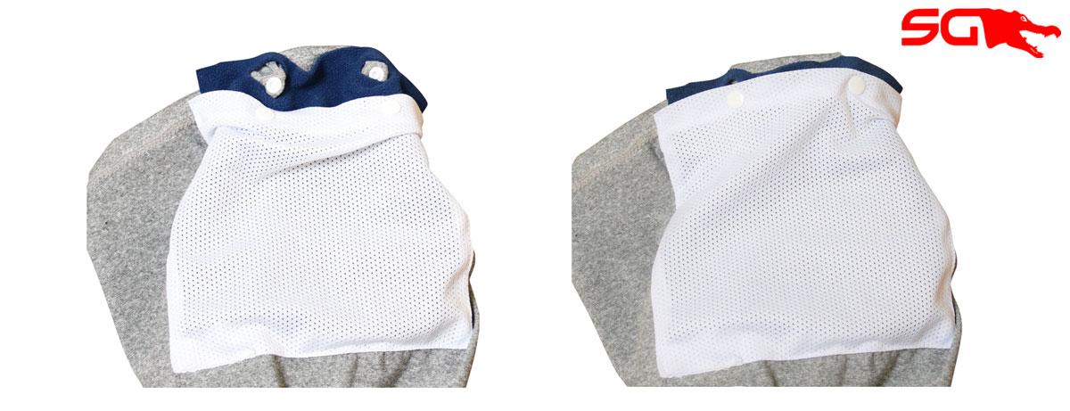 Making DIY Cloth Facemask Filter for Slick Gaiter Neck Gaiter Filter Pocket Step 3