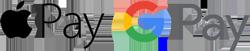 Apply Pay & Google Pay on Slick Gaiter
