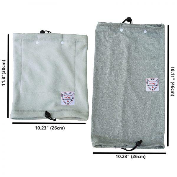 Slick Gaiter Summer Version Sports Neck Gaiters and Cold Weather Fleece Neck Warmer Size and Adjustable Head Wear